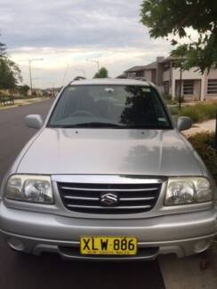2001 Suzuki XL-7 Wagon- 12 months Rego Doonside Blacktown Area Preview