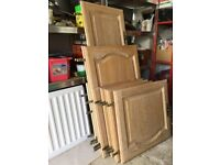 Solid Oak Kitchen Unit Door Fronts