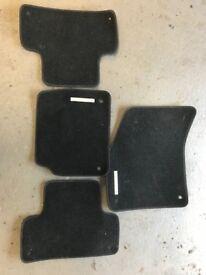 Range Rover Evoque Interior Mats front & back black