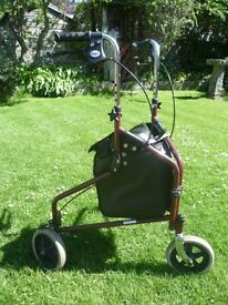 Days Lightweight Aluminium Tri Wheel Walker.