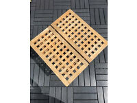 Wooden Folding Garden Table
