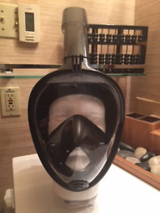 Professional Snorkeling/Diving Mask ~ FULL FACE DESIGN ~ NEW