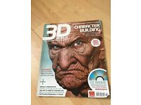 3D World Character Building Oct 2007 + Free CD