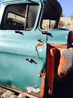 1958 GMC Truck Cab with Doors and BC Registration