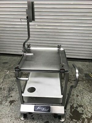 Slicer Cart Mounting System Face To Face Deli Buddy 8464 Commercial Food Prep