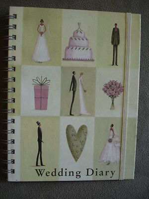 Wedding Diary Journal Hardcover Book  Designed by Roger la Borde