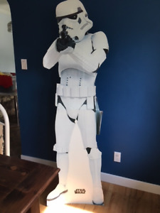 Stormtrooper cardboard standup