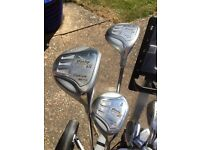Dunlop Golf Club Set With Trolley and Accessories