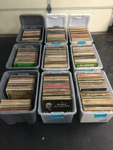 HUGE Vinyl Record Lot - Classical Jazz Vocal Country Rock Rhythm & Blues 1000+