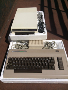 Commodore 64 console avec Floppy disk