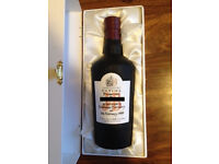 1999 J & B Ultima special presentation Box personalised label from Knock ando