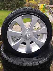 215/45R17 rims and tires Prince George British Columbia image 2