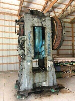700 Ton National Forging Press Stroke 8 Inches Shut Height 22 Stroke 8 S