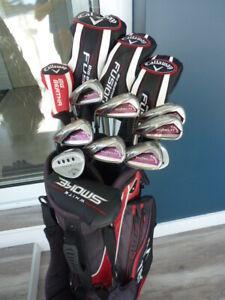 Superbe ensemble de golf Taylormade R11, Callaway Diablo et Md3