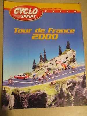 VELO : GUIDE DU TOUR DE FRANCE : 2000 : CYCLO SPRINT