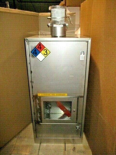 "VMB Cabinet Gas Valve Manifold Box, 22x22.5x46.5"", Swagelok, Parker, SMC, 100464"