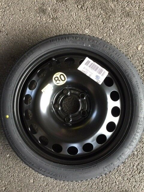 """Jack /& Spanner,5 Stud FIAT 500X BRAND NEW FULL SIZE SPARE WHEEL /& NEW TYRE 16/"""""""
