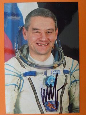 .Waleri Grigorjewitsch Korsun (RUS), Kosmonaut - Foto signiert