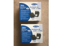 Solwise HomePlug Ethernet - Networking - twin pack