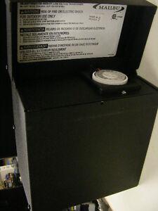 MALIBU 600 WATT TRANSFORMER POWER SUPPLY PACK LANDSCAPE LIGHTING- ML600TWM