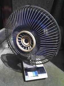 """Vintage 12"""" Table Fan"""