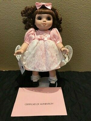 "Marie Osmond 14"" Orginal Adora Belle in Pink Dress COA, tag, charm LE 1997"