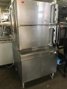 CLEVELAND double steamer Model # 36CGM16300, Natural gas, 20 Trays  *90 Day warranty
