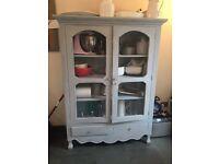 Laura Ashley Farmhouse Style Wooden Storage Cabinet
