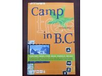 Camp Free in BC (British Columbia) guide book as new