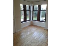 Unfurnished 1 bedroom flat for rent