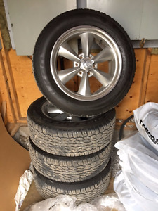 """American Racing 20"""" Rims with Tires"""