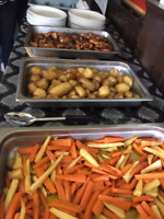Hot or cold buffet style catering avaliable