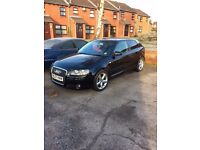 07 Audi A3 2.0l TDI 3 door Sport 170BHP Low 72 000 miles - Two owners, very clean car, Not Smoking