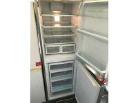 FREE - Large Hotpoint Silver Fridge Freezer - NOT FULLY WORKING