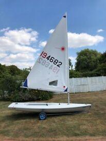 Laser Radial - Sail No: 194682