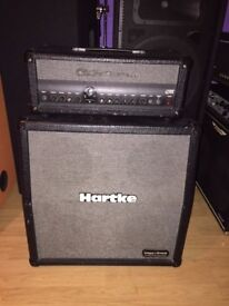 hartke piggyback gt60 head and 4x8 cabinet