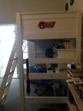 Bunk bed with desk and mattress Coogee Eastern Suburbs Preview