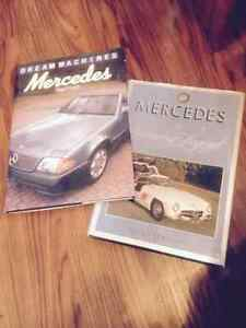 TWO  MERCEDES COFFEE TABLE BOOKS