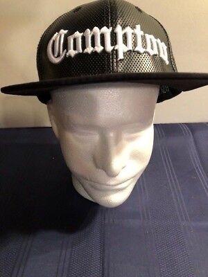 STRAIGHT OUTTA COMPTON CITY LA CA EAZY E DR DRE ICE CUBE NWA SNAPBACK CAP HAT ()
