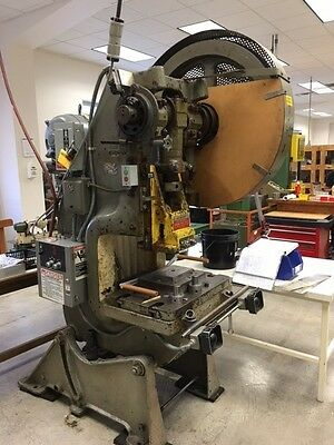 45 Ton Perkins 550 Obi Press Punch Press Stamp Press