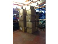 Strong Cardboard Boxes - Ideal for House Moves & Storage. Used.