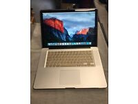 """Apple MacBook Pro 15"""" Intel Dual Core @ 2.4GHz 6gb Memory 750GB HDD *El Capitain* Gold Cover £369"""