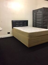 DOUBLE ROOM AVAILABLE £80 PW ALL BILLS INCLUDED IMMEDIATELY- FREE WIFI