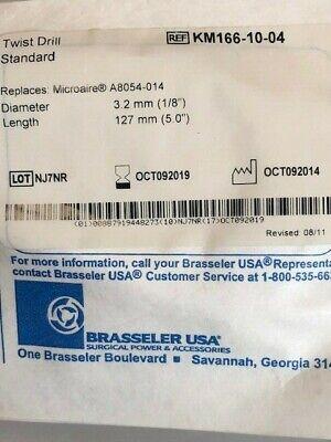Brasseler Usa Km166-10-04 Twist Drill Standard Specs On Pic 1019