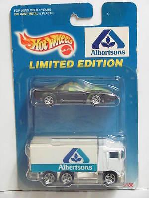 Hot Wheels 1997  Albertsons Banshee   Hiway Hauler 2 Car Pack