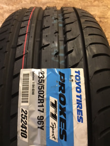 4 P235/50/17 Toyo Proxes T1 Sport tires installed - SALE $500