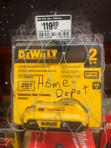 DEWALT BATTERIES, NEW, NEVER CHARGED, 20 VOLT