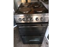 £90.99 Beko Black electric cooker+50cm+3 months warranty for £90.99