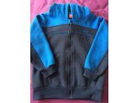 3 Slazenger tracksuit tops hoodies jackets size 5-6