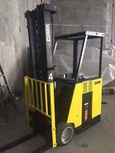 Clark Electric Forklift & Charger